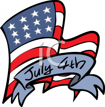 fourth of july clip art images. 4th of July Clipart